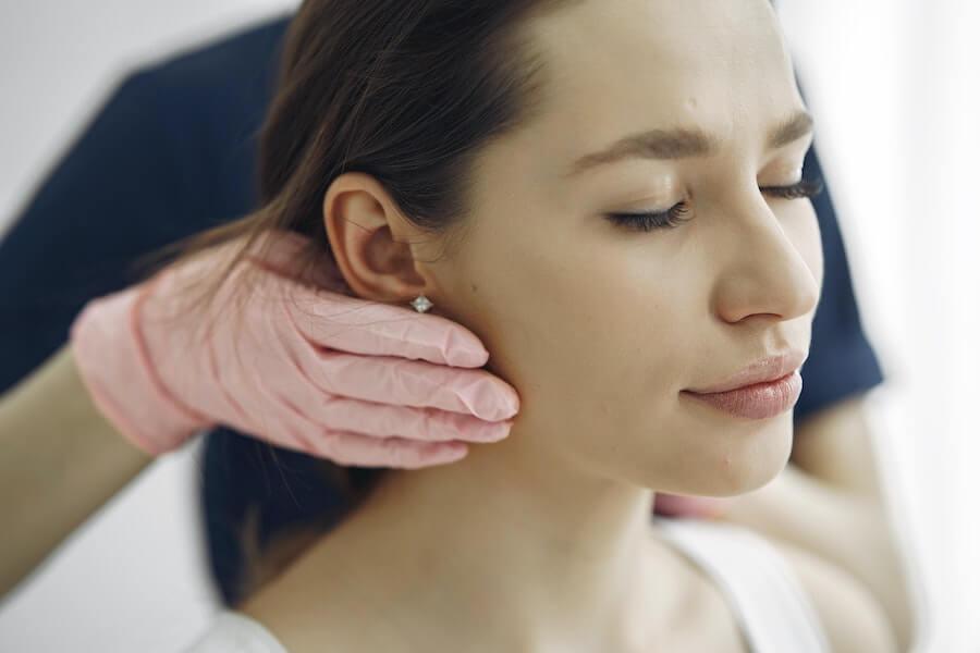 ansiktbehandling-förberedelser